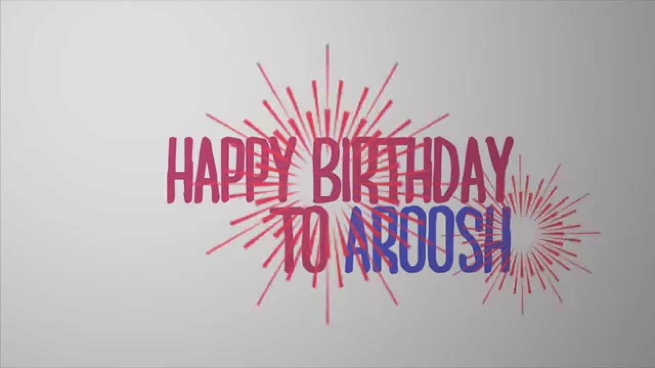 Happy Birthday After Effects template - YouTube