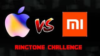Apple Ringtone vs MI Ringtone || Best Ringtones Challenge || Apple Ringtone || MI Ringtone