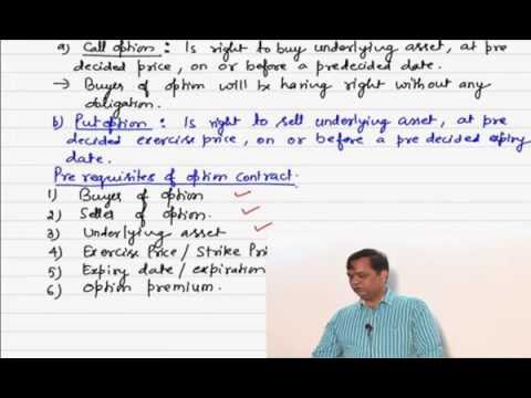 Options basics-derivatives