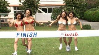 ハプニング続発! Hカップなおっぱい運動会 橘花凛 動画 29