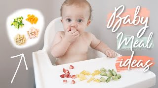 WHAT MY BABY EATS IN A DAY | BABY MEAL IDEAS FOR A 9 MONTH OLD | BABY LED WEANING
