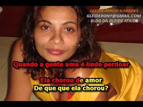 ELA CHOROU DE AMOR GINO & GENO KARAOKE