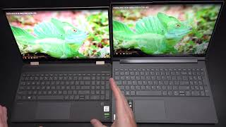 Lenovo YOGA 9i 15 2 in 1 vs HP Spectre X360 15t 2 in 1 2020