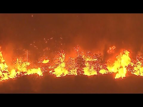 More than 80,000 told to evacuate as Calif. wildfire grows