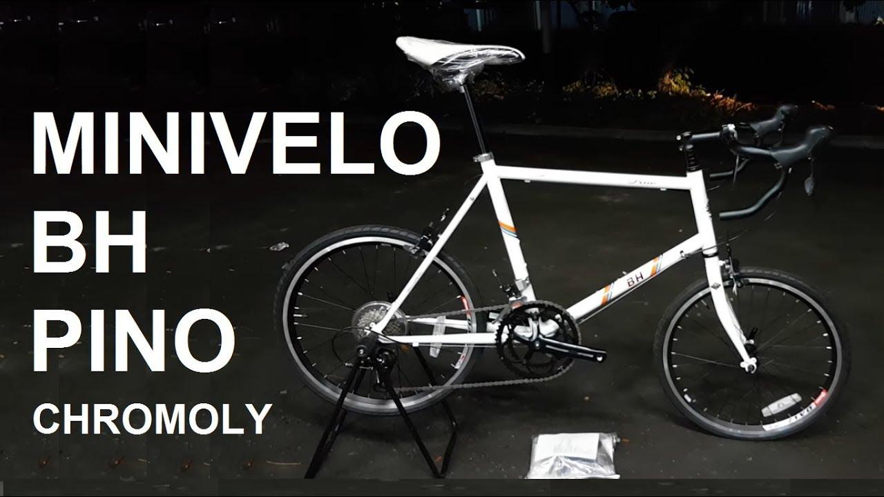 Sepeda Minivelo Chromoly Bh Pino Shimano Sora 632 Youtube