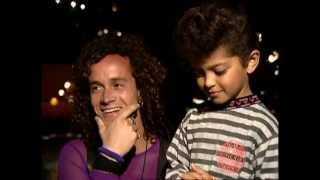 Little Bruno, 4 year old Bruno Mars with Pauly Shore.