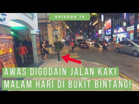 jalan-jalan-keliling-bukit-bintang-malaysia-malam-hari,-mampir-jalan-alor-juga!