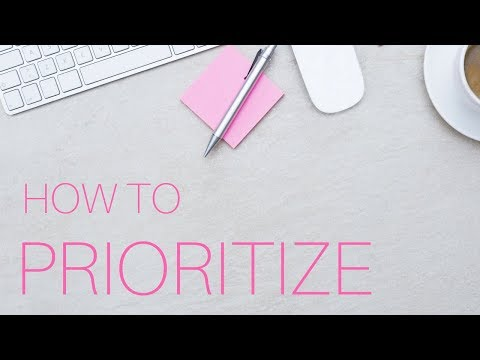 How to Prioritize: My New System for Planning Each WEEK // Gillian Perkins