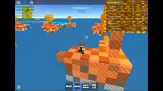 Skywars Roblox #2 faire équipe avec d'autres