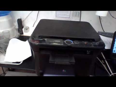 Impressora Sansung Clx-3175n Manchando A Folha Ao Imprimir Colorido