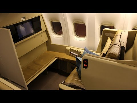 SINGAPORE AIRLINES Business Class 777-300ER | PVG-SIN