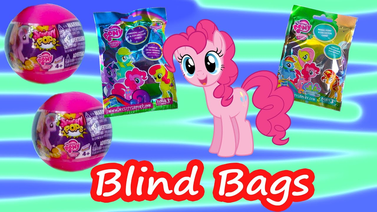 Squishy Pops Blind Bags : MLP Squishy POPS Ball Blind Bags Surprise Mystery Figures My Little Pony Opening Cookieswirlc ...