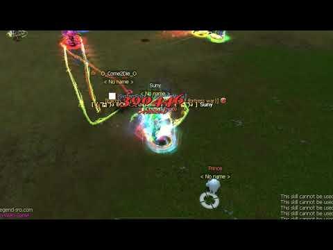 Silkroad Online Sro Pvp Prince Vs Suny Kill 390k