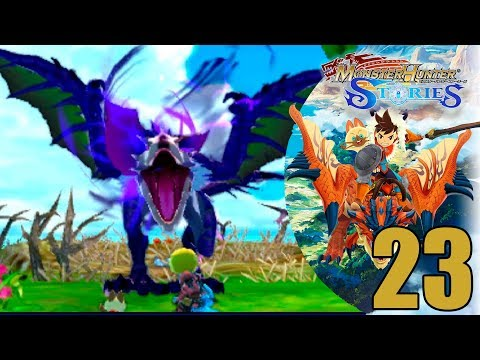 El YAN GARUGA de la playa Paupau  I #23 I Monster Hunter Stories