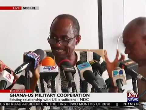 Ghana-US Military Cooperation - The Pulse on JoyNews (22-3-18)