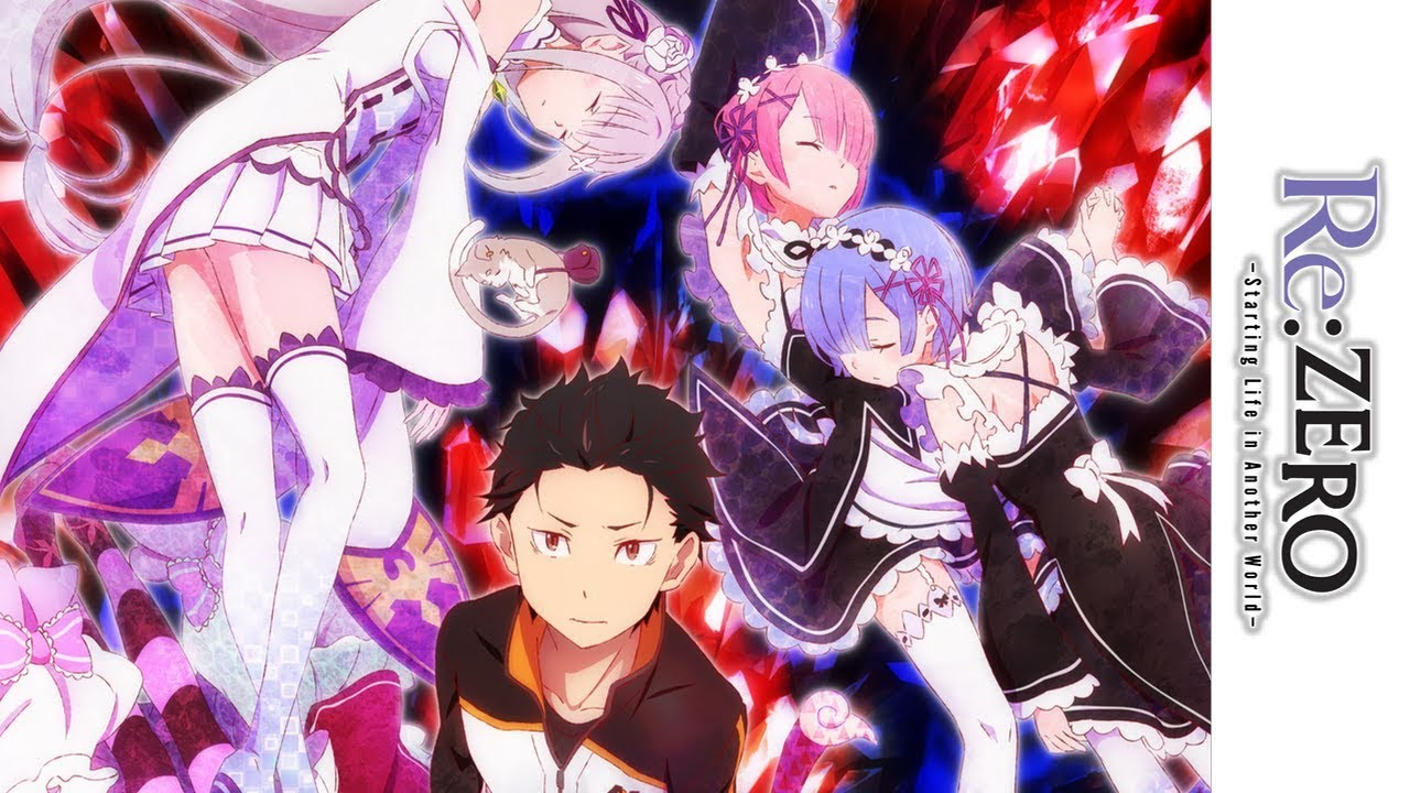 Re Zero Official Trailer Youtube