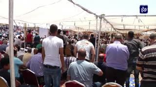 تشييع جثمان الشاب الجواودة الذي قضى في حادثة سفارة الاحتلال - (25-7-2017)