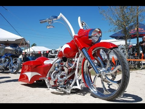 Harley Davidson Bagger Motorcycle For Sale