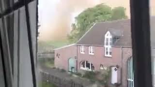 Riesiges Unwetter in boisheim Tornado 16.5.18