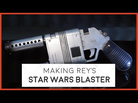 Making Rey's Star Wars Blaster