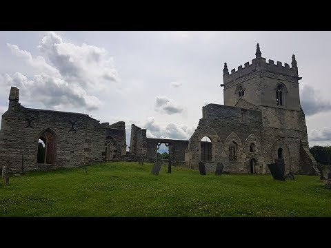 Abandoned Church-  St Mary's in Colston Bassett (Snail Titanic)