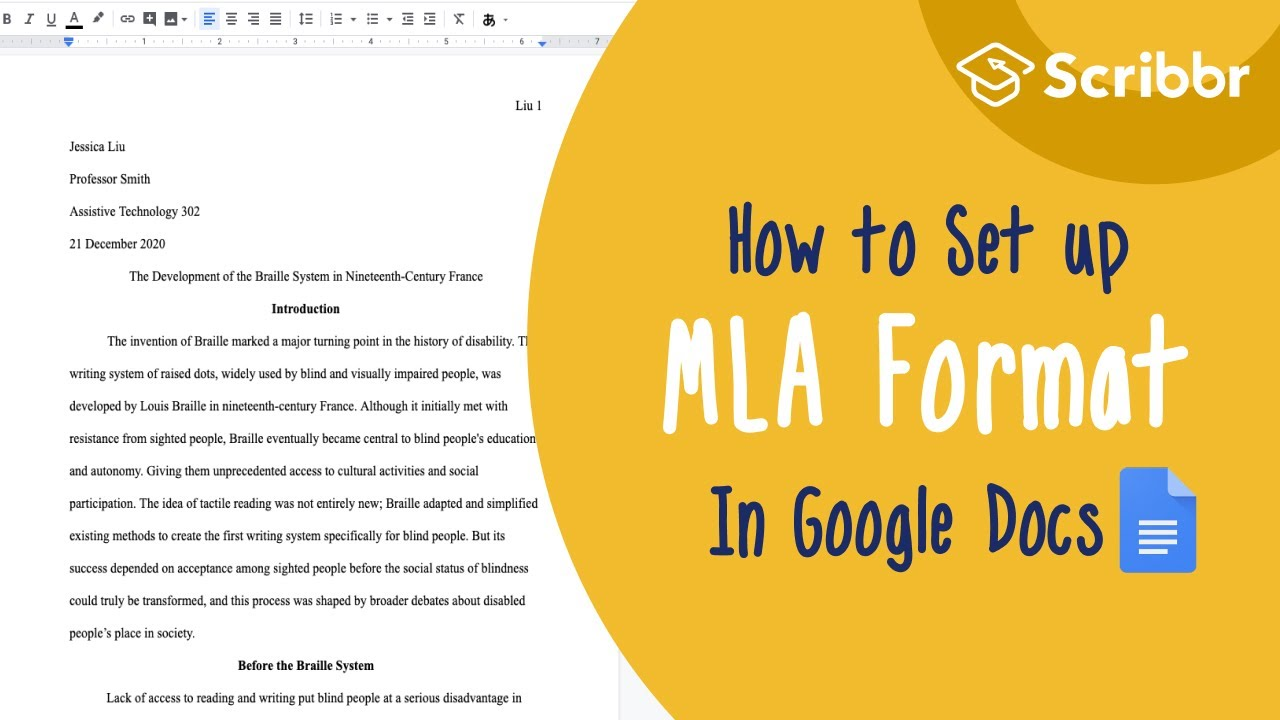 MLA Format Guidelines  Free Template & Examples