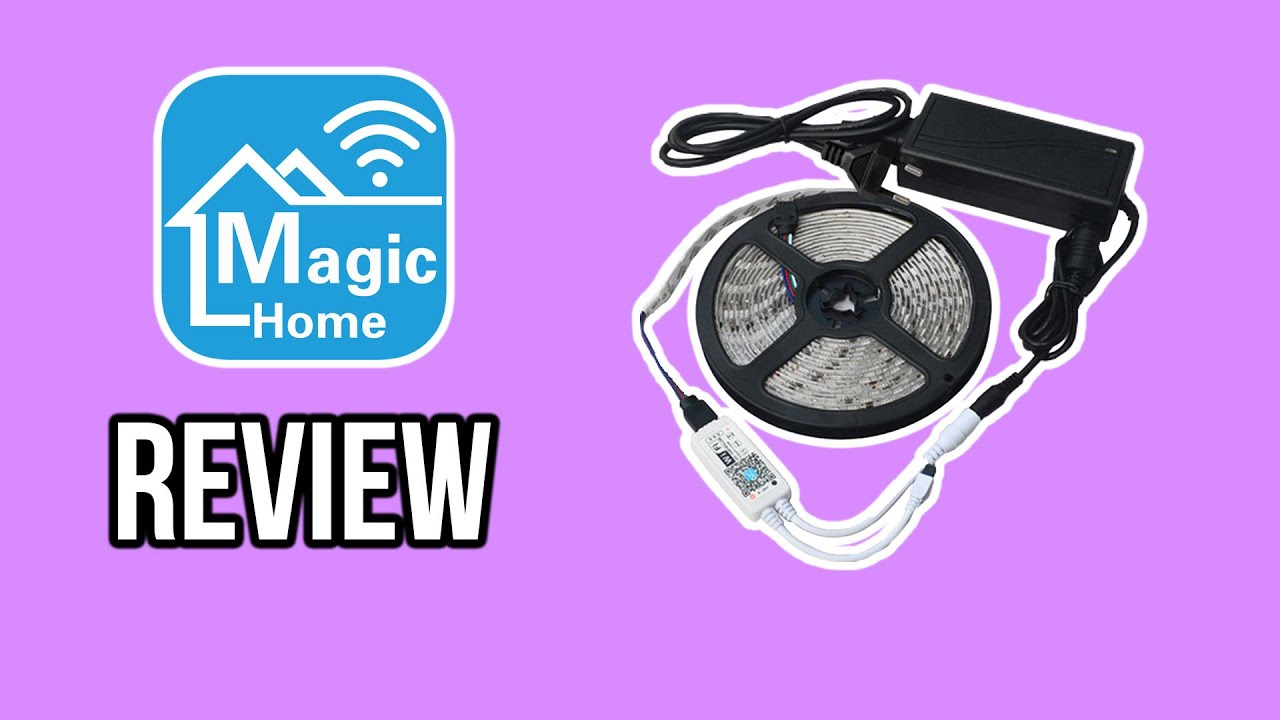 How To Connect A Magic Home Led Strip Youtube