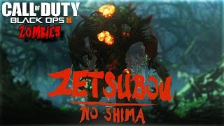 ZETSUBOU NO SHIMA EASTER EGG WITH OP ZOMBIES CHRONICLES GOBBLEGUMS!