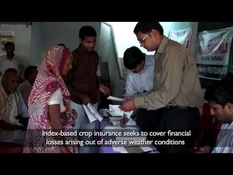 Climate Smart village project: Index-based Crop Insurance coming to life in India