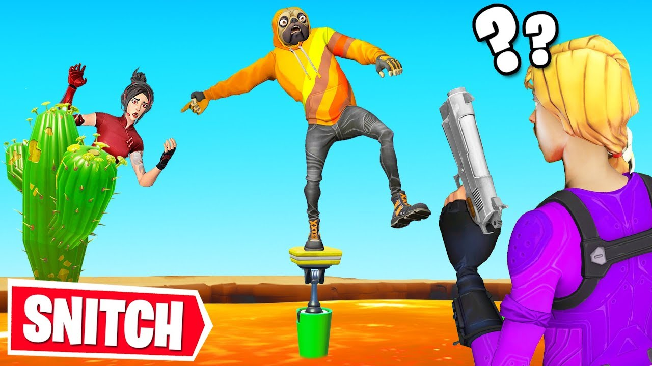 SNITCH or CHALLENGE to LIVE Fortnite Hide  Seek  YouTube