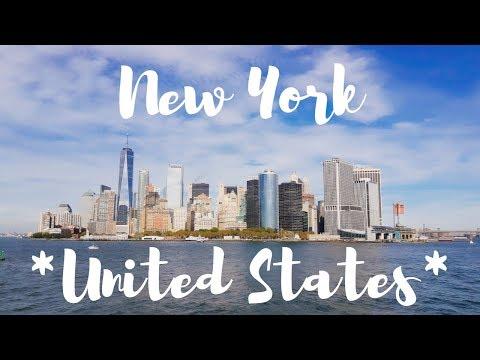 Travel Vlog New York *United States*