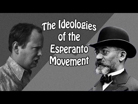 The Ideologies of the Esperanto Movement