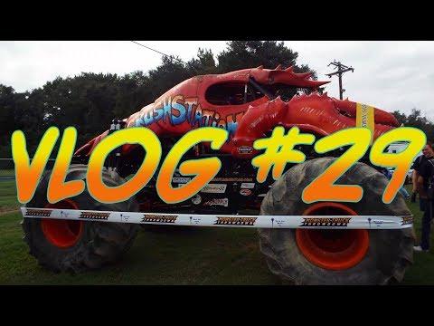 Monster Truck Throwdown 2018! *Bridgeport Speedway* | Vlog #29
