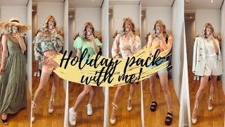 HOLIDAY PACK WITH ME AND HUGE HAUL WITH RIVER ISLAND, ASOS, OH POLLY, HOUSE OF CB | India Moon