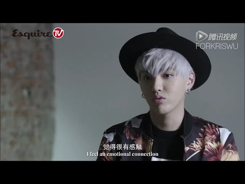 [ENG|720P] 151225 Esquire Magazine Photoshoot Behind The Scenes - Kris Wu Cut