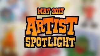 Artist Spotlight | May 2017
