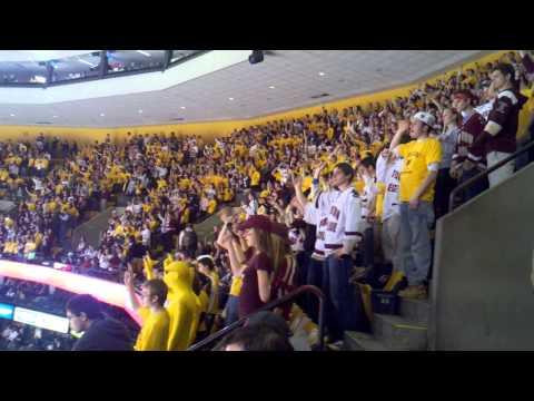 Boston College Hockey's Fight Song & Goal Chants