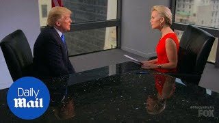 Donald Trump to Fox's Megyn Kelly: I have 'regrets' - Daily Mail