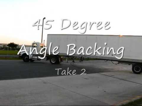 Backing trucks (Miami Lakes Educational Center)