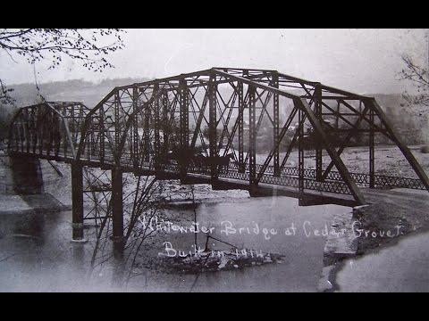 The  Cedar  Grove  Bridge,  Cedar  Grove,  Indiana