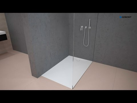 Geberit Shower Surface Setaplano Installation