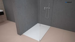 Geberit Shower surface Setaplano - Installation