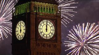 Happy New Year 2020 Countdown & Fireworks Feliz Año Nuevo 2020 Cuenta Atrás & Fuegos Artificiales