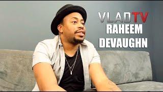 Raheem DeVaughn on Top 5 Male Singers and Genius of R. Kelly