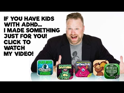 Learning tools for Kids with ADHD.