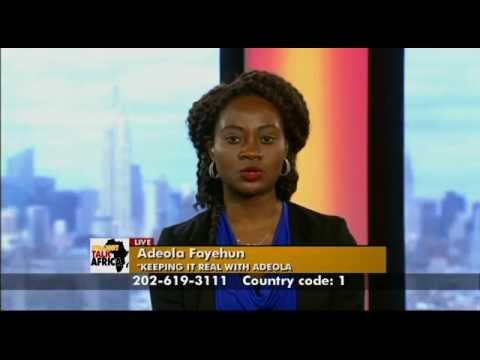Straight Talk Africa Guest Adeola Fayehun on Freedom of ...