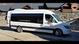Mercedes Sprinter VIP Van - Our Georgian Ski Transportation