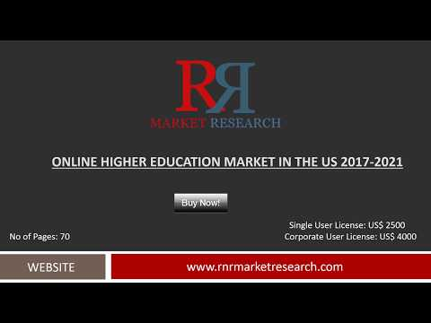 Online Higher Education Market in US: 5- Forces Analysis 2017-2021