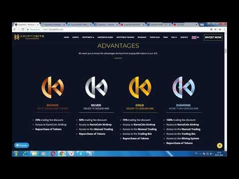 KRYPTOBITS - система блокировки для банковских и финансовых услуг на блокчейн