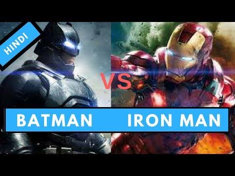 Batman vs Iron Man. Who will win in a fight?